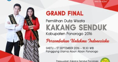 Grand Final Kakang Senduk Ponorogo 2016