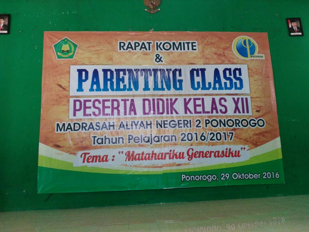 Parenting Man 2 Ponorogo