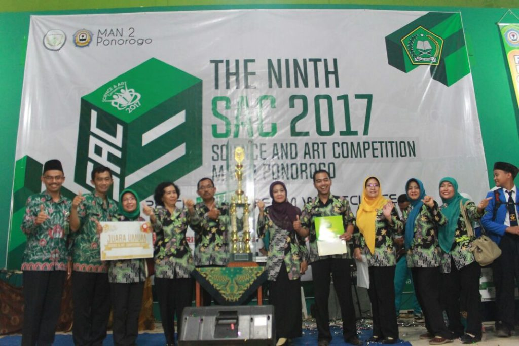 HASIL KEJUARAAN SCIENCE & ART COMPETITION IX 2017