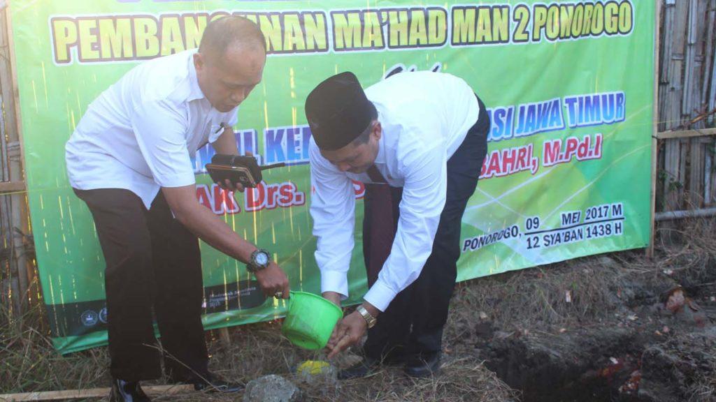 Pembinaan ASN dan Peletakan Batu Pertama Ma'had MAN 2 Ponorogo