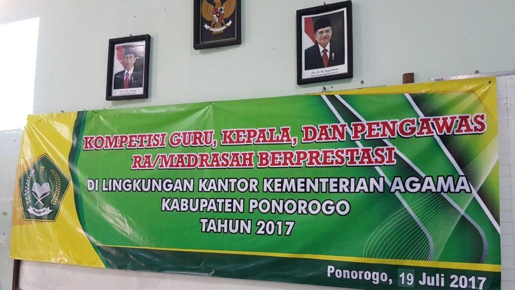 Kompetisi Guru, Kepala, Pengawas Berprestasi di MAN 2 Ponorogo