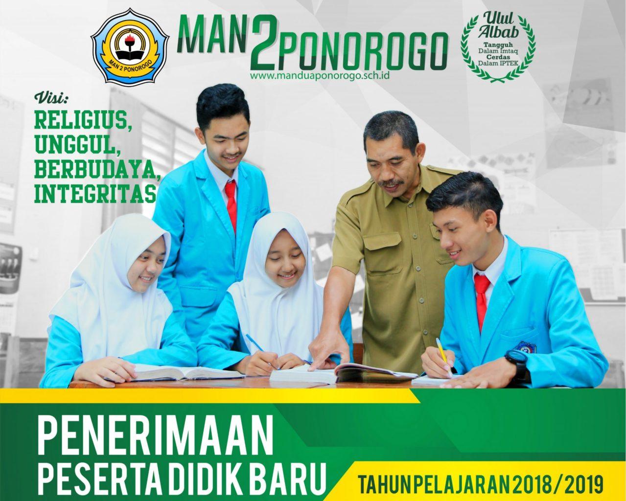 PPDB MAN 2 PONOROGO 2018-2019 Gel 1