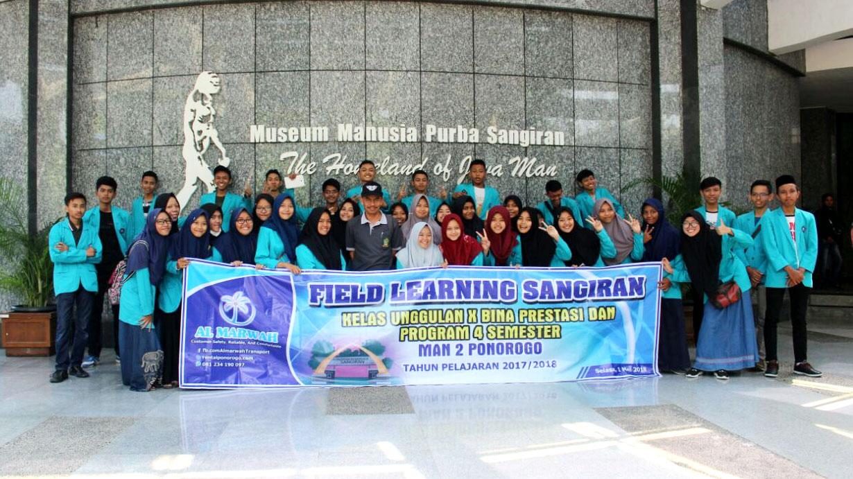 Field Learning di Sangiran Sragen Jawa Tengah