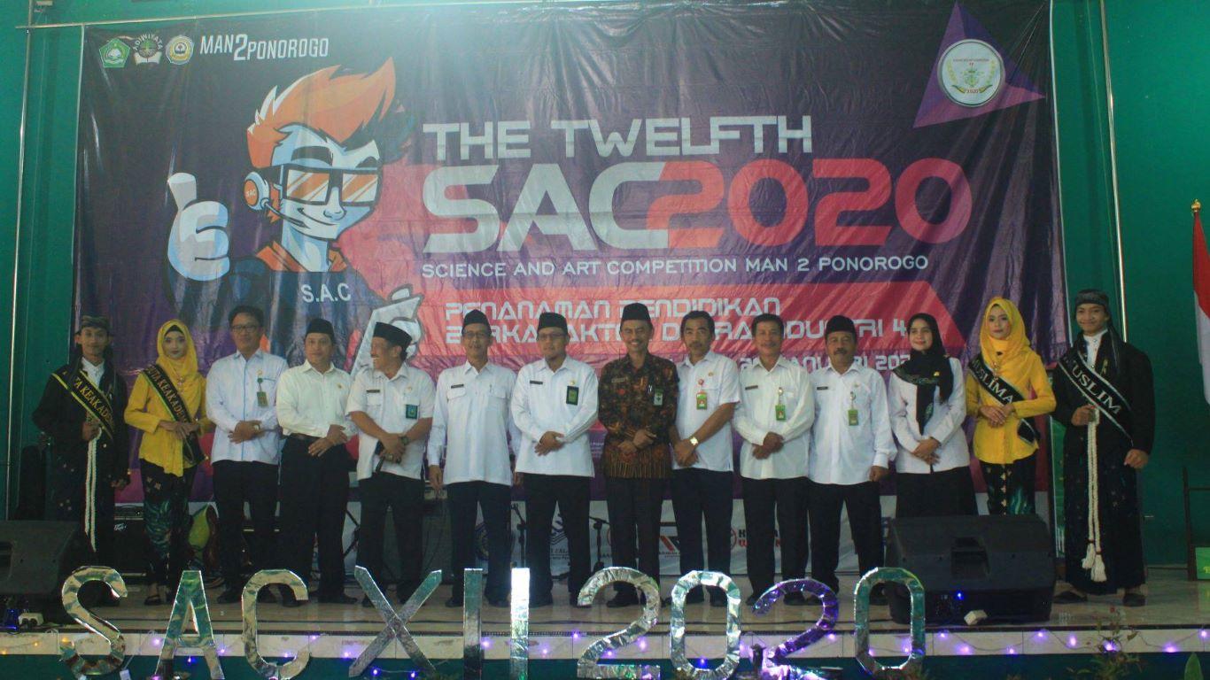 Meriahnya SAC XII Tahun 2020