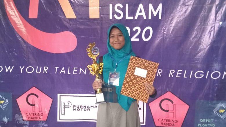 Adelia Ziadatu Rizqillah Raih Kejuaraan Da'i se Jawa Timur