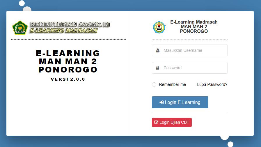 Antusias Belajar dengan E-Learning